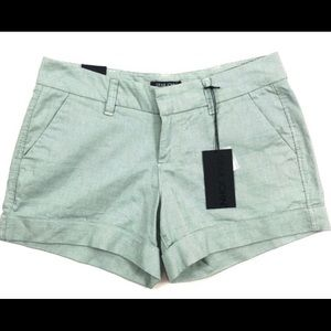 Dear John light green subtle check shorts